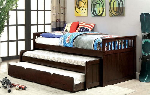 Triple Twin DayBed In Espresso