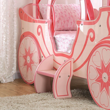 Load image into Gallery viewer, Arianna Princess Carriage Twin Bed