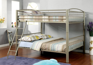 Lovia Full / Full Bunk Bed In Gold