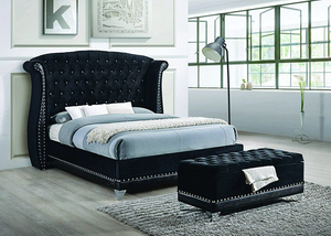 Barzini Tufted Upholstered Bedroom Collection