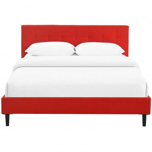 Linnea Bed In Atomic Red