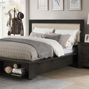 Sligo Dark Gray Bed Frame