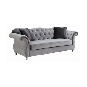 Frostine Living Room Collection (Grey)