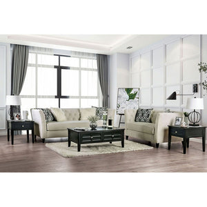 Monaghan Living Room Set (Ivory)