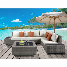 Load image into Gallery viewer, Salena Patio Sectional & Cocktail Table