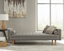 Load image into Gallery viewer, Lassen Tufter Upholstered Sofa Bed In Grey