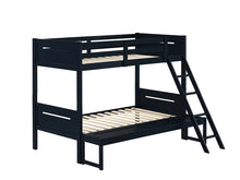 Load image into Gallery viewer, Littleton Contemporary Twin over Full Bunk Bed (Blue)
