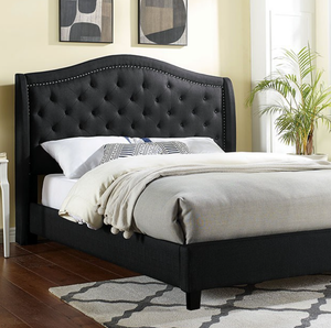 Carly Black Bed Frame