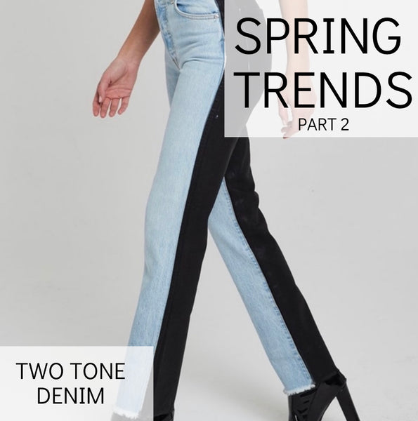 Trend Alert: Two Tone Denim