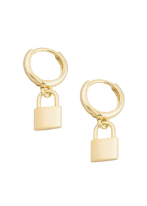 PADLOCK Mini Hoop Earrings