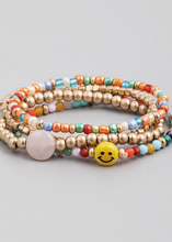 Load image into Gallery viewer, SMILEY Bracelet Set