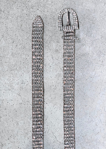It Girl Rhinestone Belt - Shop Sahara