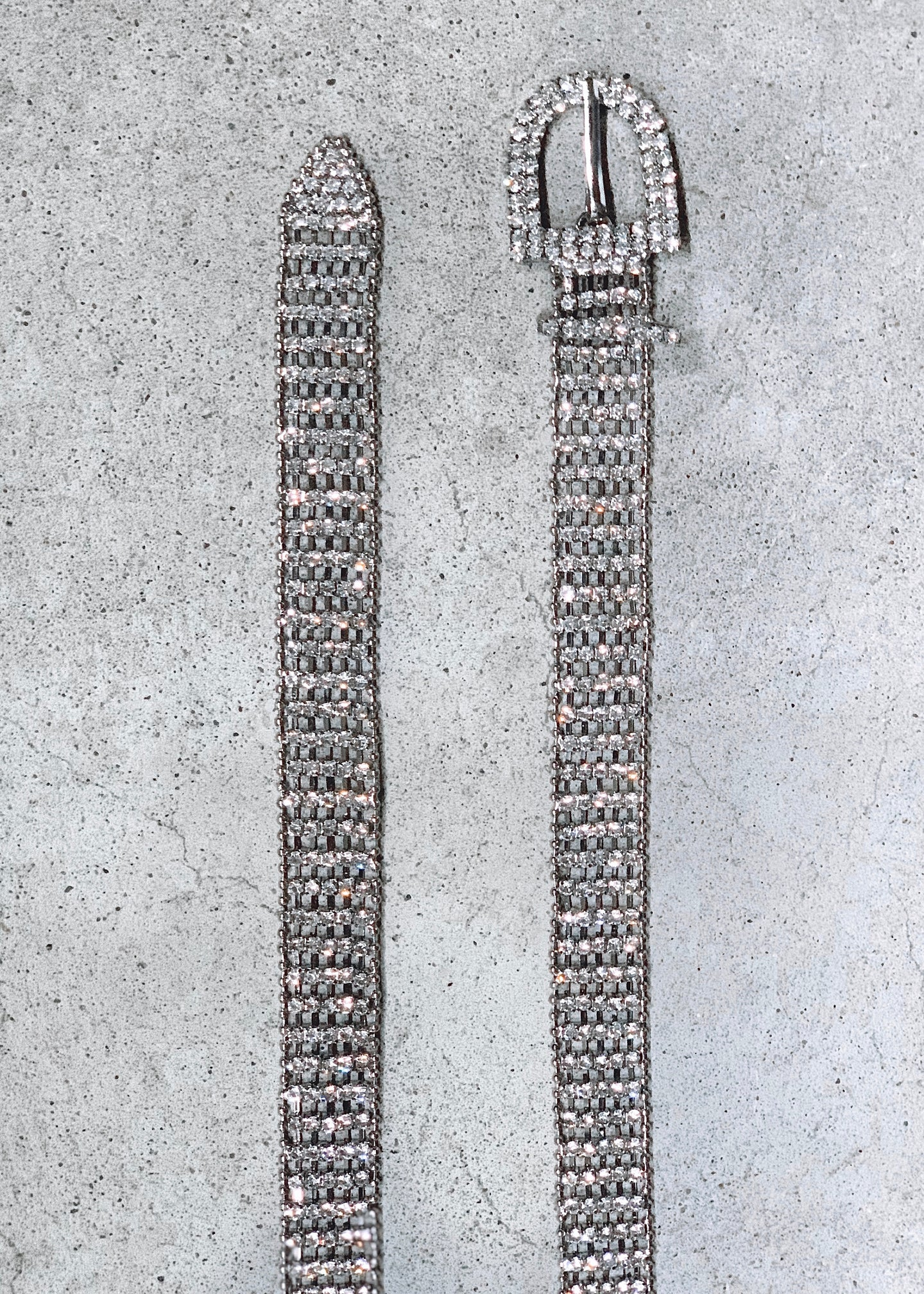 It Girl Rhinestone Belt
