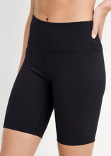 Load image into Gallery viewer, Trendy and cute, these biker shorts are a perfect addition to any wardrobe. Made with ribbed fabric for a thick short and lasting comfort at an affordable price.