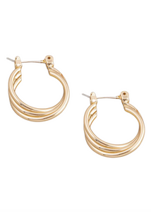 PAIGE Layered Hoop Earrings