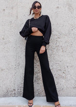 Load image into Gallery viewer, Ivy Rib Pants - Black