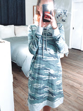 Load image into Gallery viewer, Camo Hoodie Dress - Shop Sahara