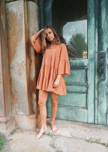 Babydoll Bell Sleeve Dress/Tunic - Shop Sahara