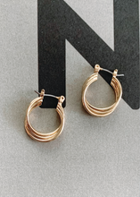Load image into Gallery viewer, PAIGE Layered Hoop Earrings