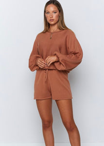 HARPER Two Piece Set - Cinnamon