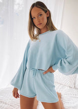 "Load image into Gallery viewer, ""Harper"" Two Piece Set - Baby Blue"