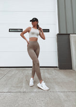 "Load image into Gallery viewer, ""HAZEY"" Taupe Leggings"