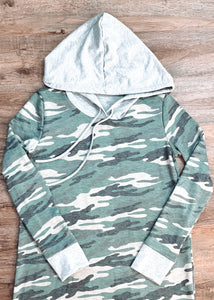 Camo Hoodie Dress - Shop Sahara