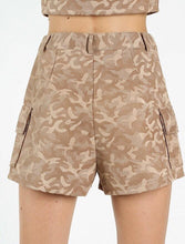 Load image into Gallery viewer, Camo is an essential for every season. Add these shorts to your wardrobe and pair with a plain black or white tee for an effortlessly fashionable look. Super soft material so you will stay comfy all day.