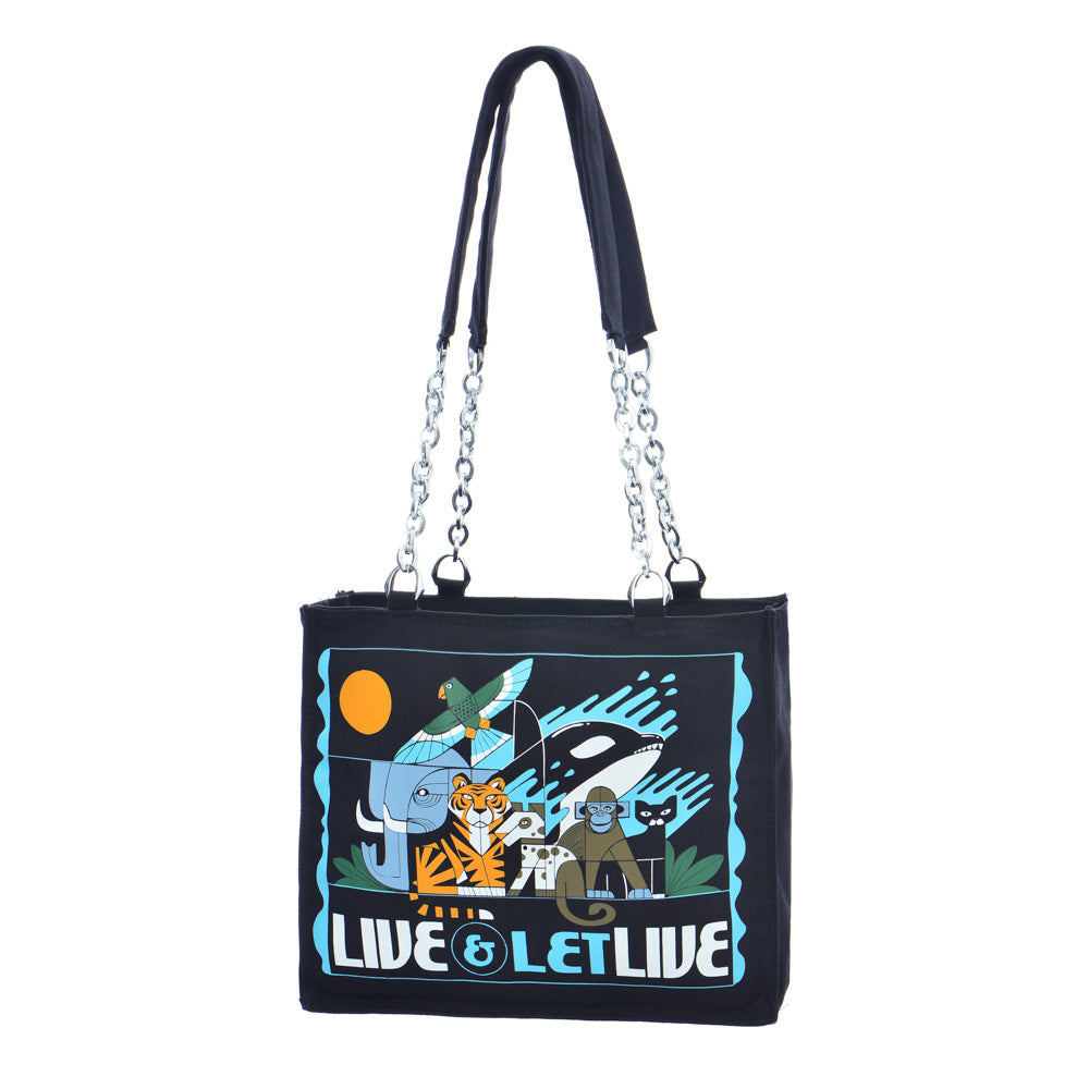 Live & Let Live Tote (Last One)