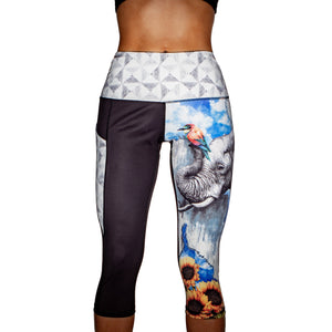 Ele-pants Yoga/Stretch Pants
