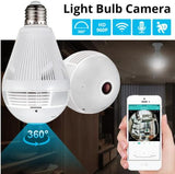Panoramic Security Camera Bulb