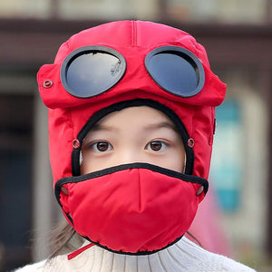 Kids Thermal Winter Trapper Hat