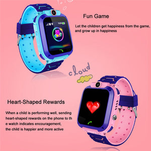 Kids Touch screen GPS Finder Smart Watch