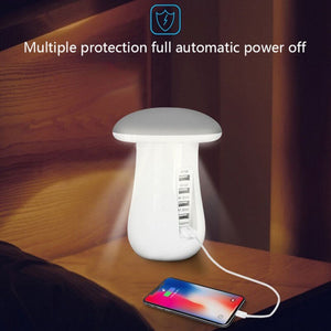Multi-charging Mushroom Charging Station & night lamp