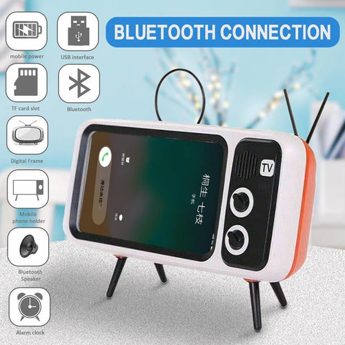 3 In 1  Retro TV Portable Mobile Phone Holder