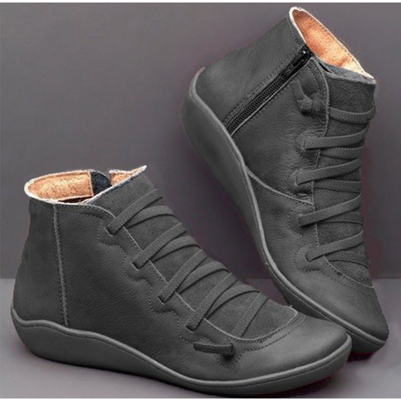 Arch Support Lace Up Boots