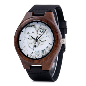 Personalized Engraved Wooden Men's Watch