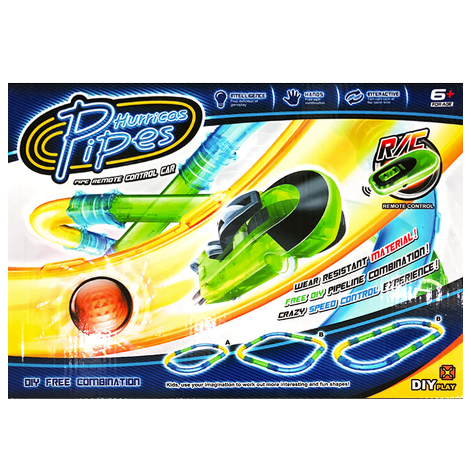 Remote Control Pipes Car Racing Track