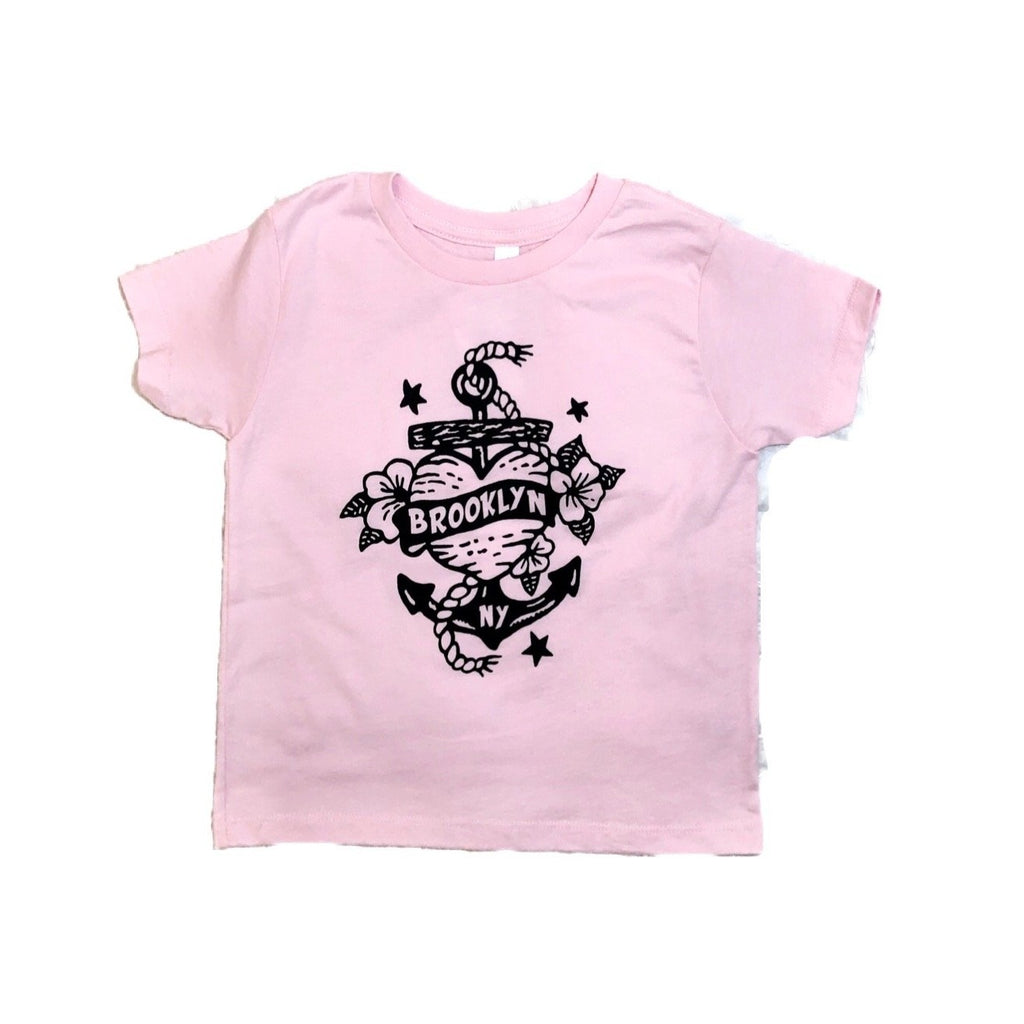 Brooklyn Heart Tattoo Tee