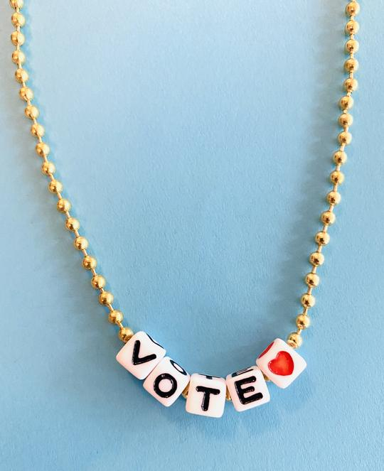 Gunner & Lux Vote Necklace