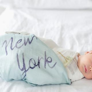 Loulou Lollipop NYC Bamboo Swaddle