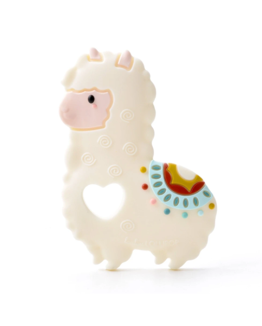 LouLou Lollipop Single Teether - Llama