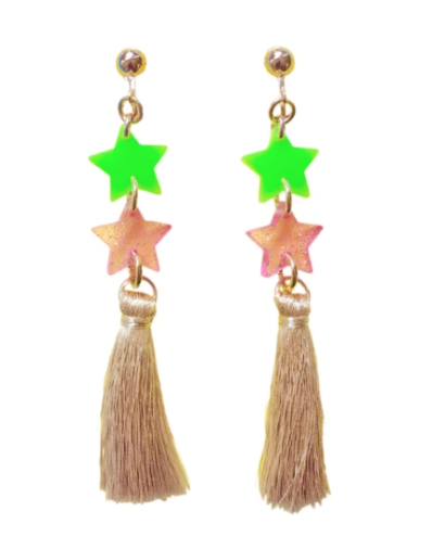Gunner & Lux Starlight Clip-On Earrings