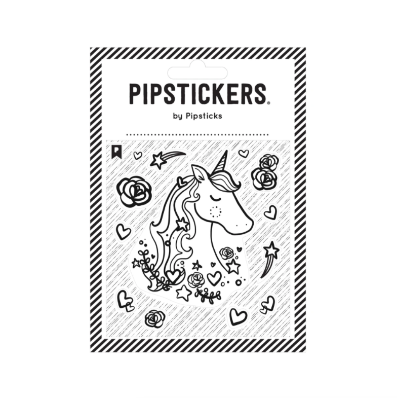 Pipstickers Color-In Unicorn