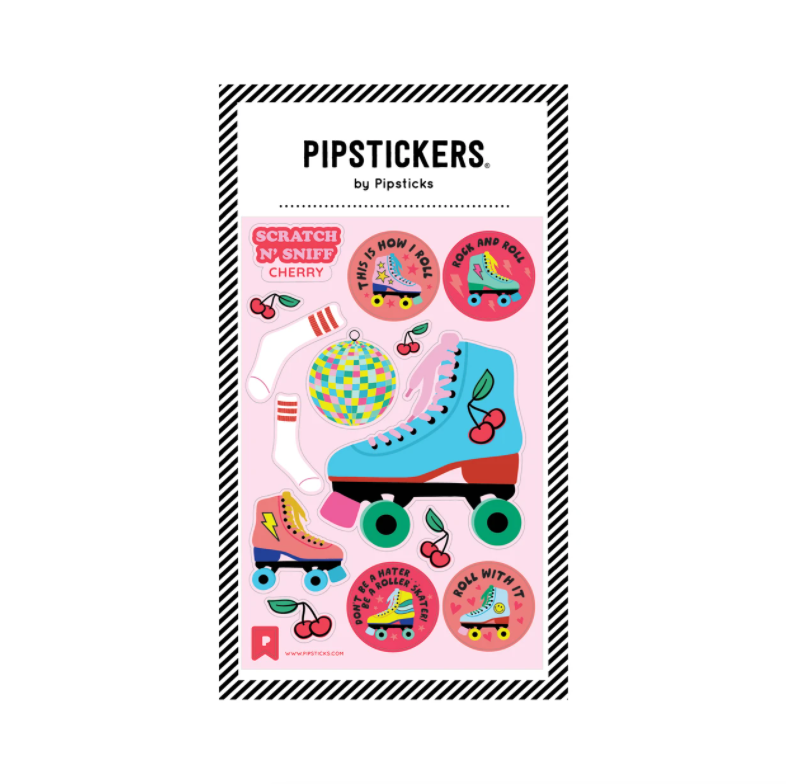 Pipstickers Roll With It Scratch 'N Sniff