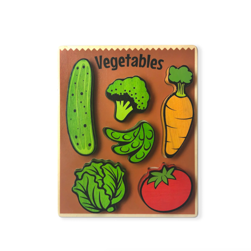 Begin Again Vegetables Puzzle