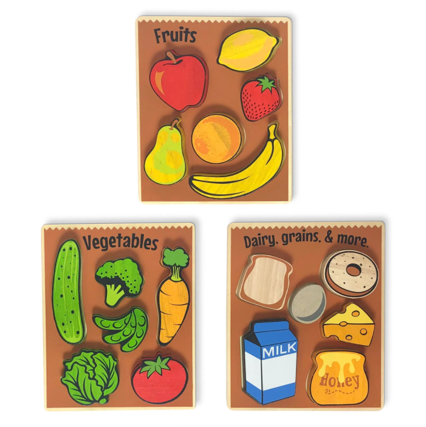 Begin Again Dairy, Grains, & More Puzzle