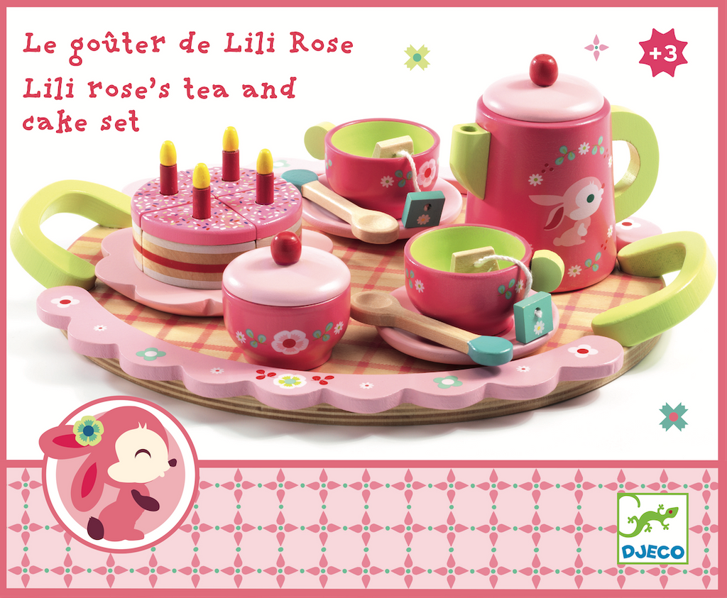 Djeco Lili Rose Tea Party