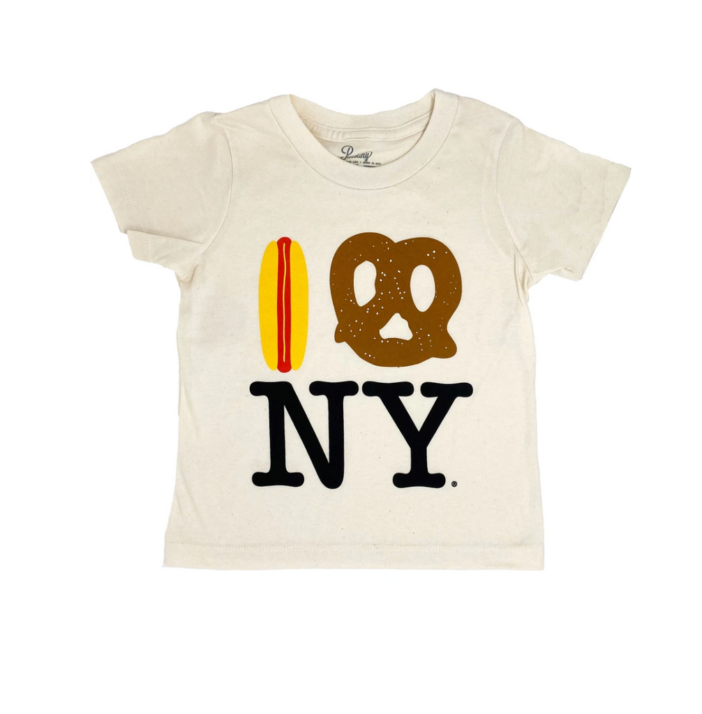 Hot Dog Pretzel NY Organic Tee