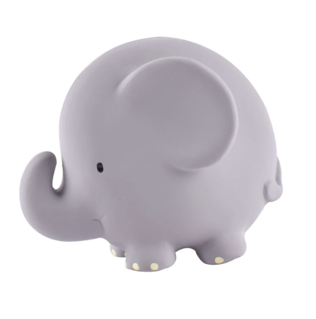 Tikiri Elephant Teether, Rattle, & Bath Toy